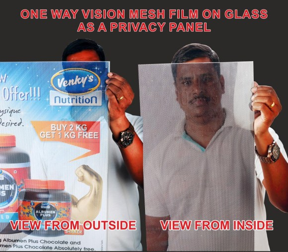 One-way Vision Glass Film Image