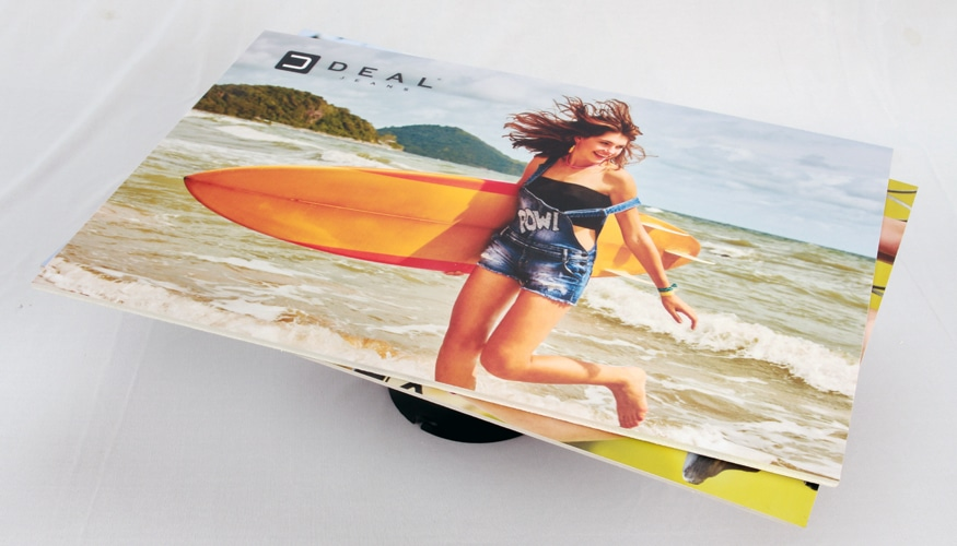 rigid foamsheet printing used in the sign industry to create posters