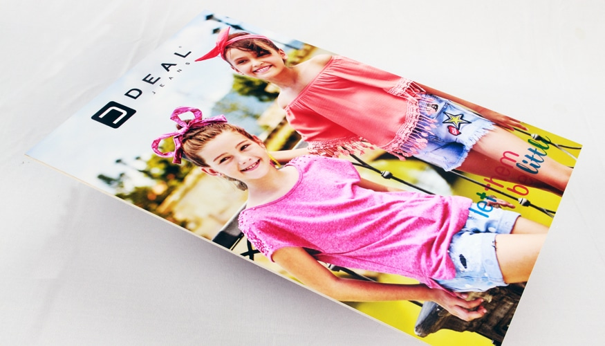 sunboard printing to create great looking posters showing product pictures