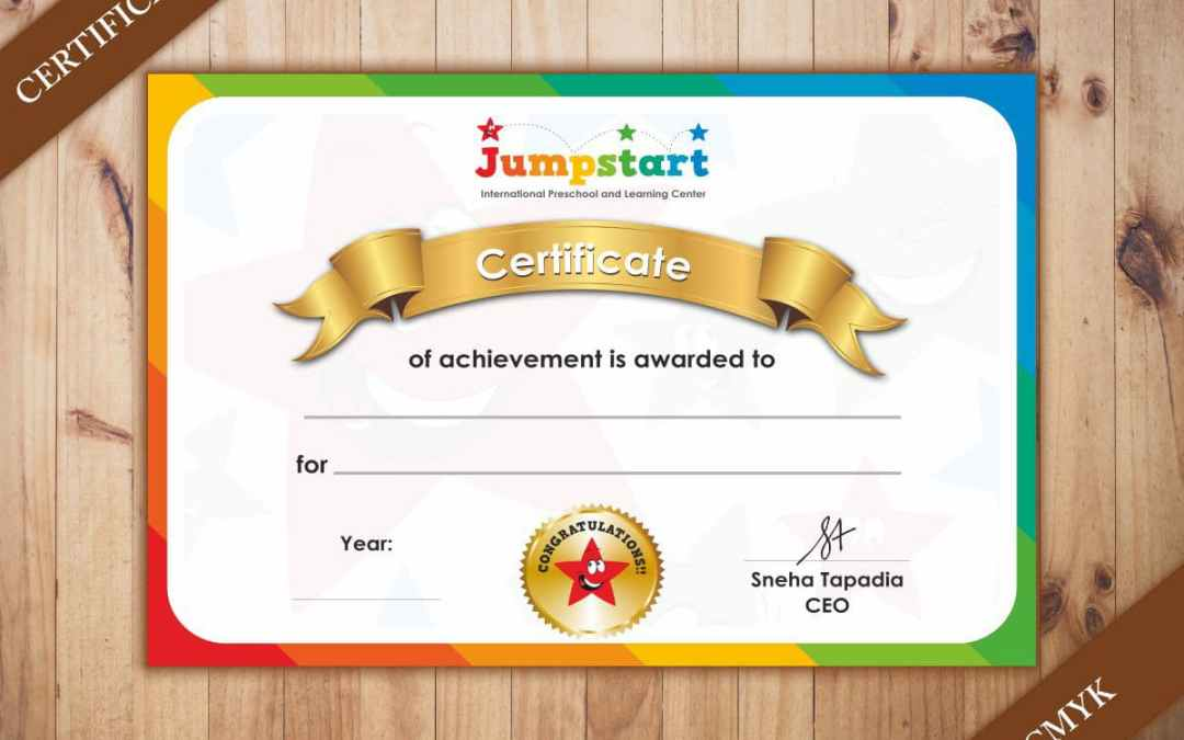 Certificate printing on regular, textured and metallic paper