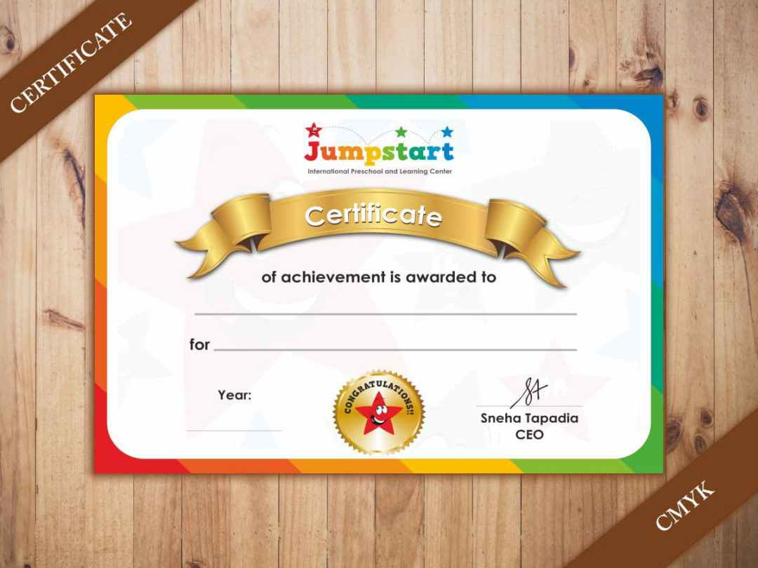 Certificate Printing On Regular Textured And Metallic Paper