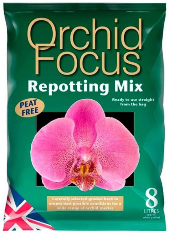 orchid repotting mix