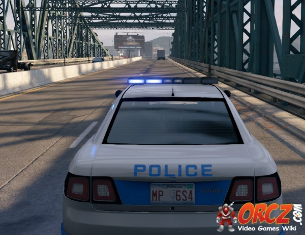 Watch Dogs Police Patrol Car Cavale The