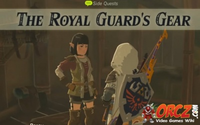 Breath of the Wild: The Royal Guard's Gear - Orcz.com, The ...