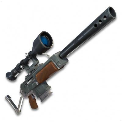 Fortnite Battle Royale Semi Auto Sniper Rifle The Video Games Wiki