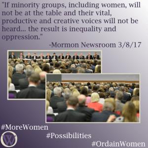 Ordain Women More Women