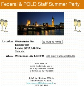 Click to Enlarge Rennard Boat Party Invite