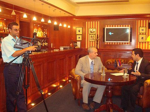 Iain Dale Armenian TV