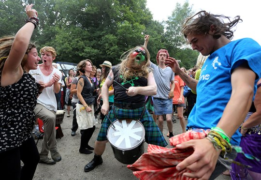 Balcombe anti fracking protest in pictures