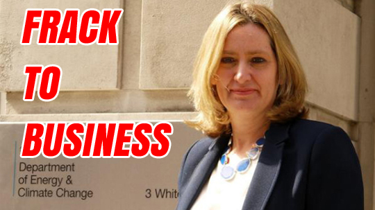 frack to business amber rudd