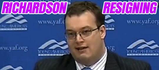RICHARDSON-RESIGNING