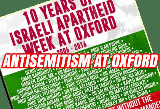Antisemitism at Oxford