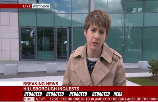 BBC REDACTED hillsborough