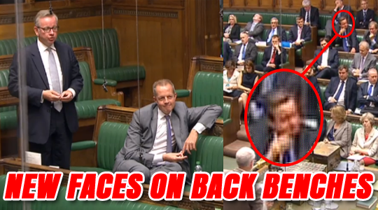 BACKBENCH DAVID CAMERON MICHAEL GOVE