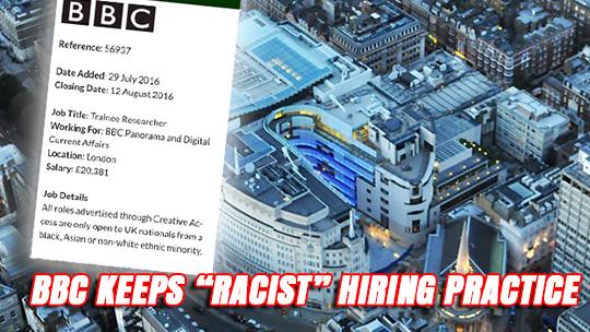 BBC hiring