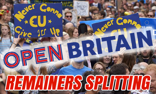 REMAINERS SPLITTING