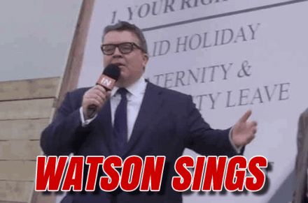 WATCH: Tom Watson Singing Israeli Celebration