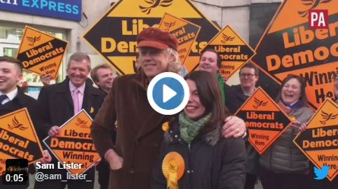 WATCH: Bob Geldof Embarrasses Libdems