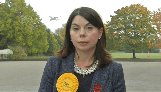 Sarah Olney Walks Out of Interview