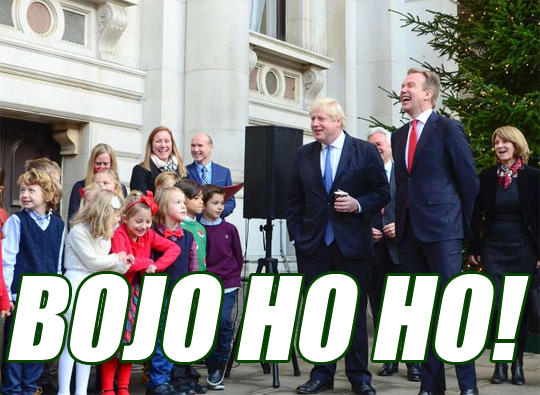 BoJo Ho Ho! Christmas Returns to FCO