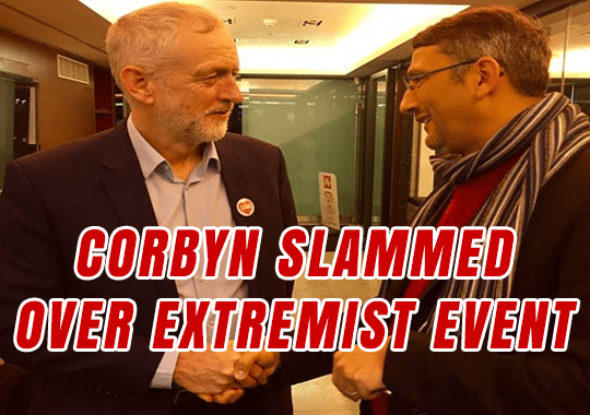 Corbyn Slammed Over Extremist Event