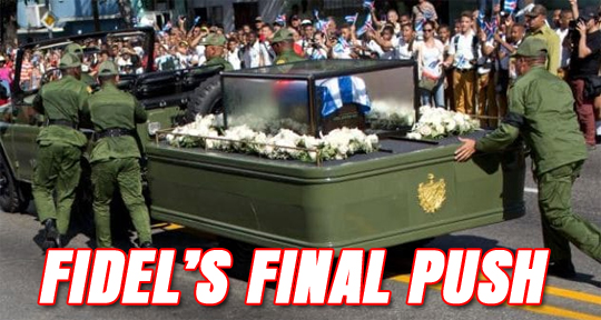 Fidel's Final Push