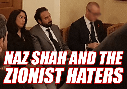 Naz Shah Attends Extremist-Linked Event