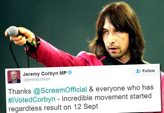 Corbyn's Celeb Mate: Stab Tory MPs for a Laugh