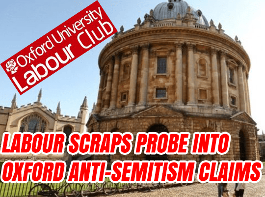 Labour Drops Student Anti-Semitism Probe