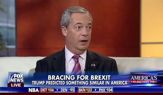 Farage Hired by Fox News