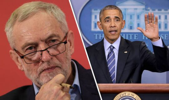 Listen: Obama Slams Corbyn