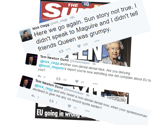 "Latest: ""Queen Backs Brexit"" Row Still Rages on Twitter"