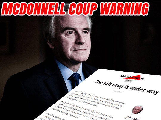 Read: McDonnell's Coup Warning