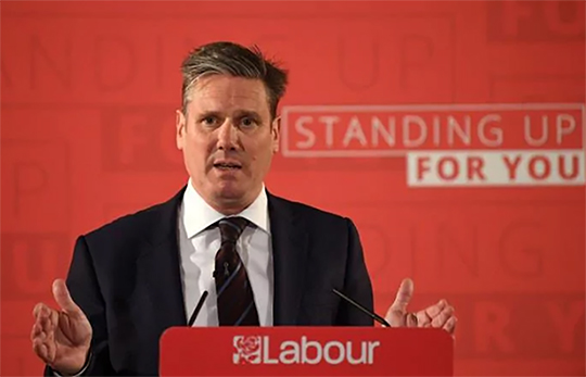 Starmer on Corbyn: Then and Now