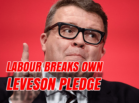 Labour Breaks Own Leveson Pledge
