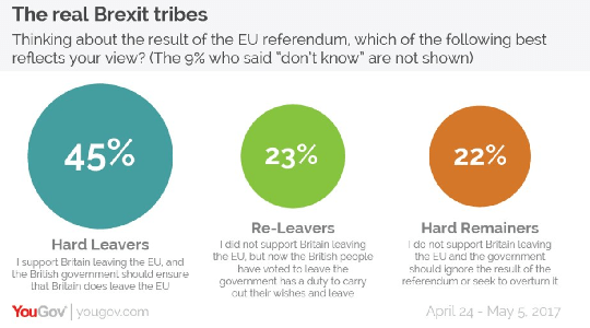 Just 22% Still Support Remain