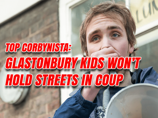 "Corbynistas Must ""Hold the Streets"" If There's a Coup Against PM Corbyn"