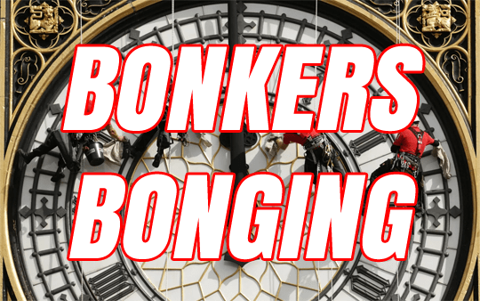 Bonkers Bong Bowing and Reporting