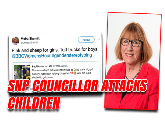 Nasty Nat Picks on Tory MP's Young Children