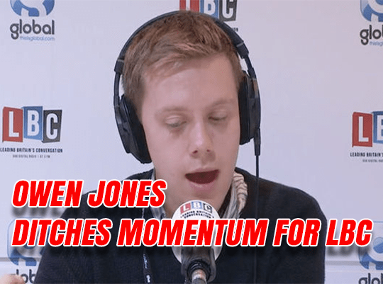 Jones Ditches Momentum For Radio Show