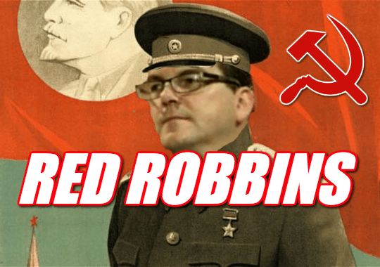 Red Robbins: May's Brexit Supremo is Soviet Sympathiser