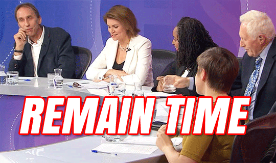 Question Time Dominated by Remainers
