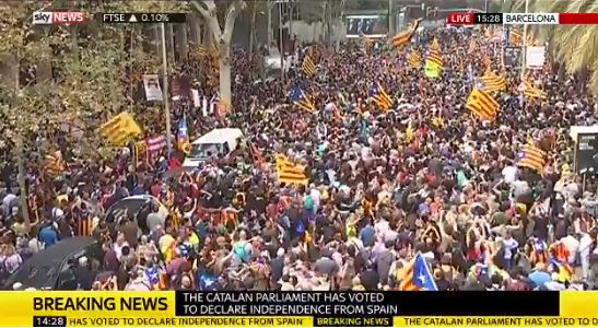 Catalans Vote for Independence