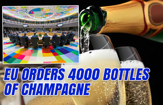 European Council Orders 4000 Bottles of Champagne
