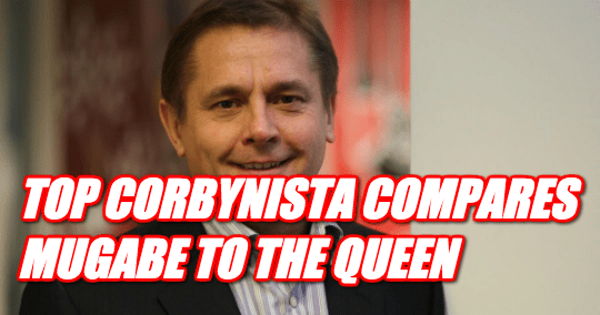 Top Corbynista Compares Mugabe to Queen