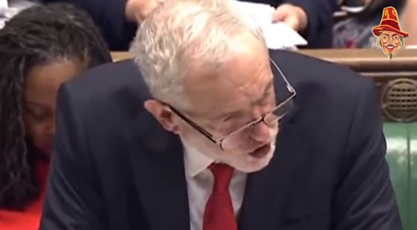 Corbyn Goes Shouty Crackers