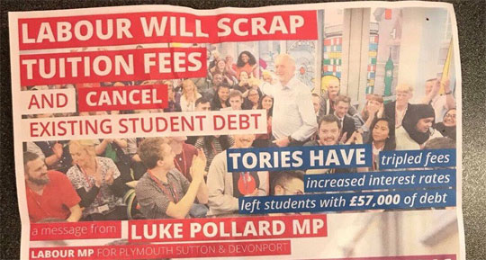 Labour's Second Round of Student Debt Fibs