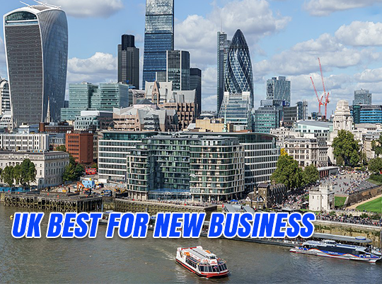 UK Number One Developed Economy For New Business