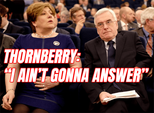 "Thornberry: ""I Ain't Gonna Answer"" Questions About McDonnell Lynching McVey"