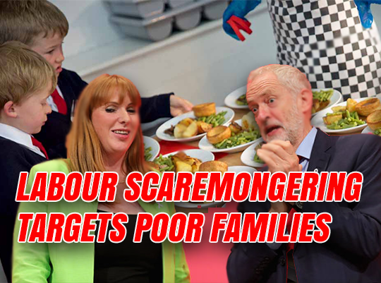 Labour Scaremongering Over Free School Meals